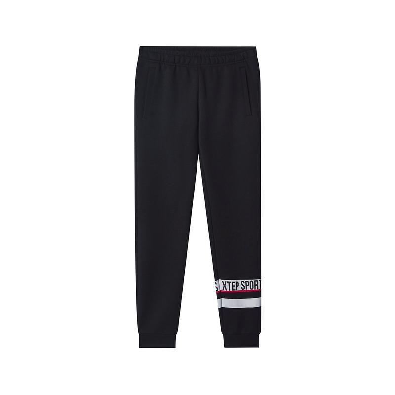 特步 专柜款 女子针织长裤 时尚活力休闲长裤981128631629