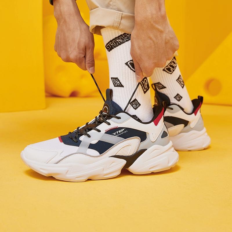 【预售到手139元】男子休闲鞋 21年新款 街头撞色时尚老爹鞋879119320027
