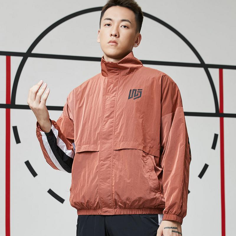 【篮球*吾界】特步 男子双层夹克 21年新款 潮流运动百搭上衣879129120091