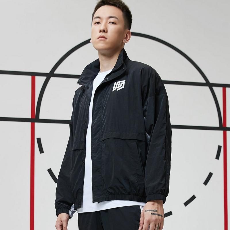 【篮球*吾界】男子双层夹克 21年新款 潮流运动百搭上衣879129120091