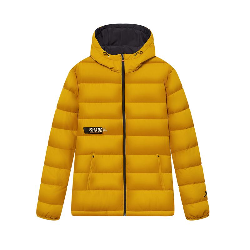 专柜款 男子羽绒服 新款 跑步运动保暖连帽外套980429190346