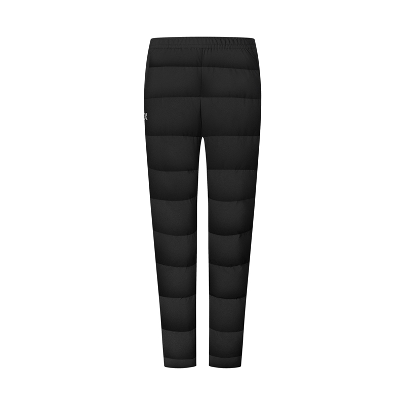 特步 专柜款 男子羽绒裤 新款 户外保暖跑步运动羽绒裤980429860138