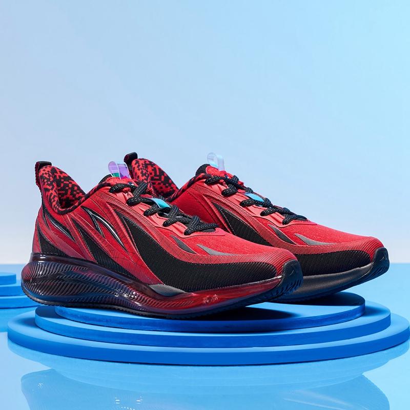 【风火鞋23代】特步 专柜款 女子跑鞋 新款革面运动鞋980418110998
