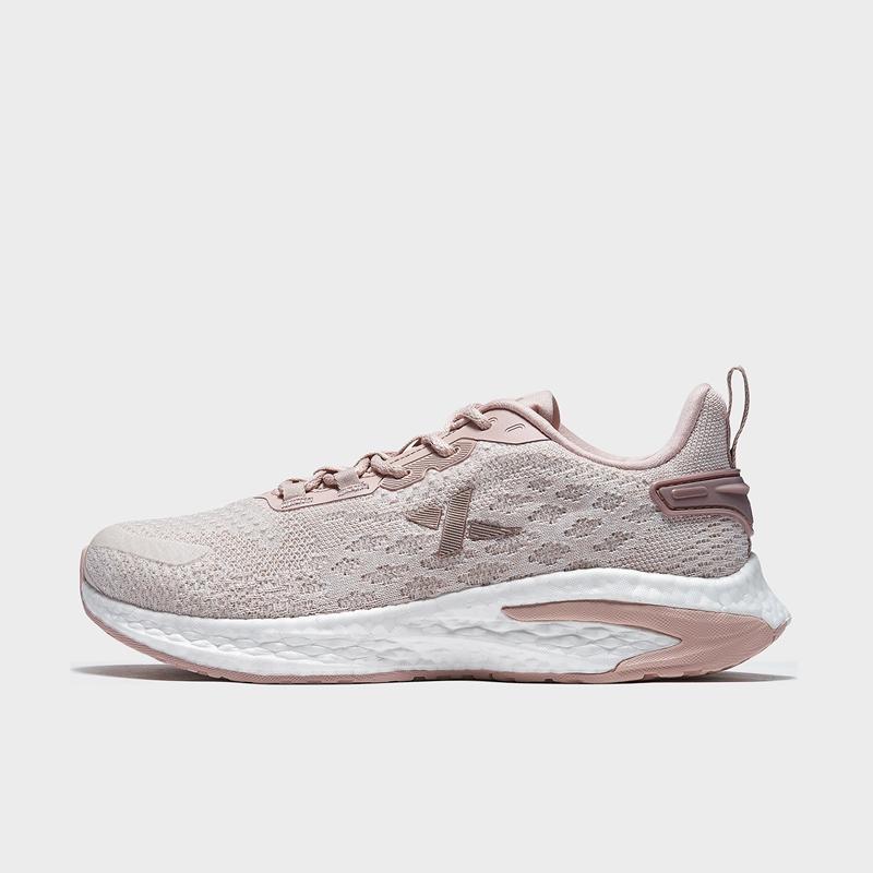 【动力巢科技】特步 专柜款 女子跑鞋 21年新款 弹力舒适百搭跑步鞋979118111019