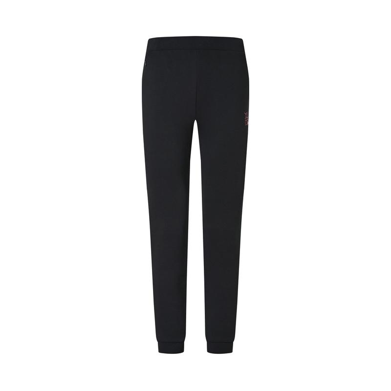 特步 专柜款 女子针织长裤 21年新款 运动训练跑步收脚裤979128630215