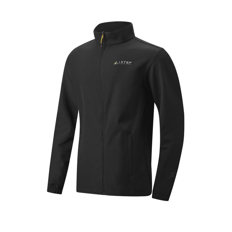 特步 专柜款 男子风衣 21年新款 户外运动健身单风衣979129140055