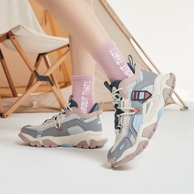 【山海】特步 女子休闲鞋 21年春季新款 潮流百搭老爹鞋879118320080