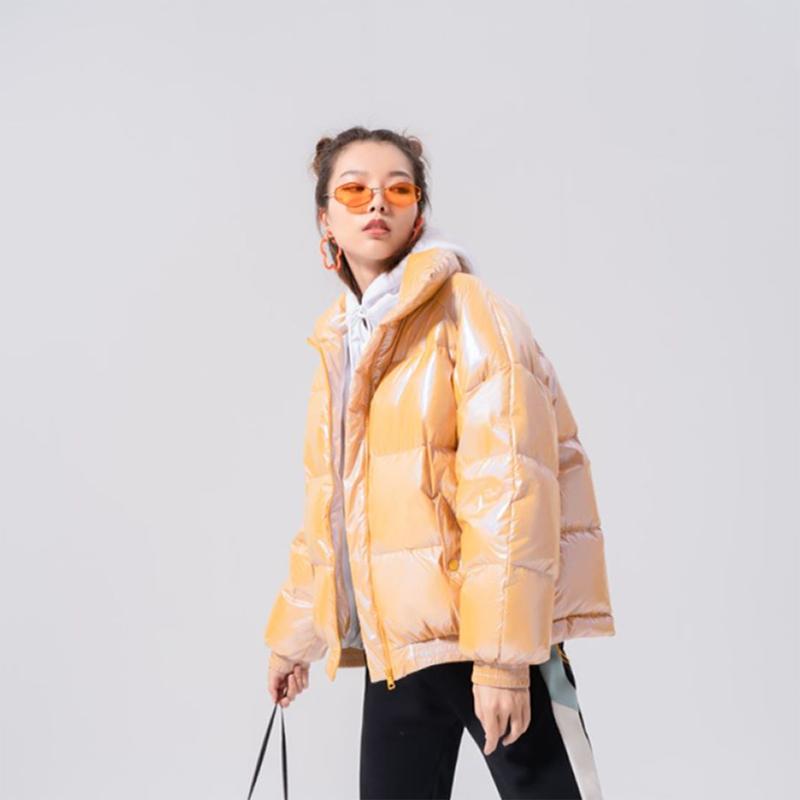 【林叁波同款】特步 女子羽绒服 新款 保暖潮流百搭防寒外套980428190001