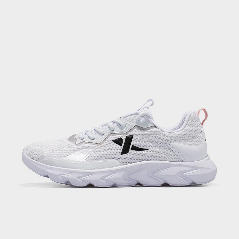 特步 男子跑鞋 21年新款 网面透气简约运动跑步鞋879119110032