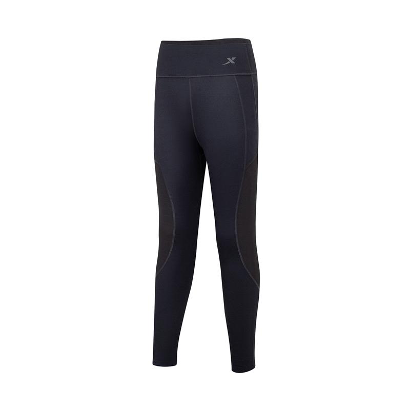特步 女子紧身裤 21年新款 专业运动瑜伽锻炼紧身裤879128580192