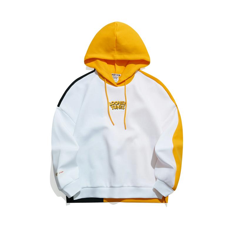 【兔八哥联名】特步 专柜款 女子卫衣 21年新款 潮流活力连帽外套979128930520