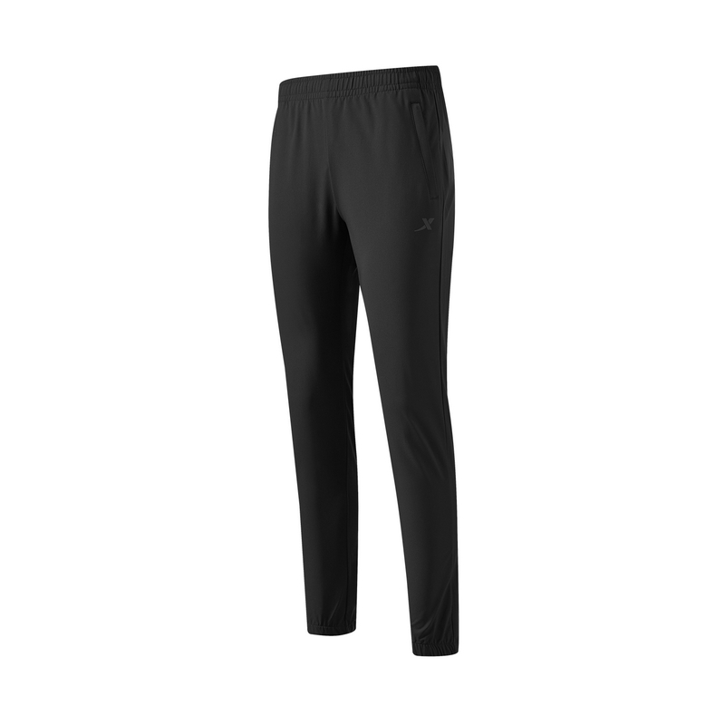 特步 专柜款 女子梭织长裤 21年新款 跑步训练梭织运动长裤979128980158