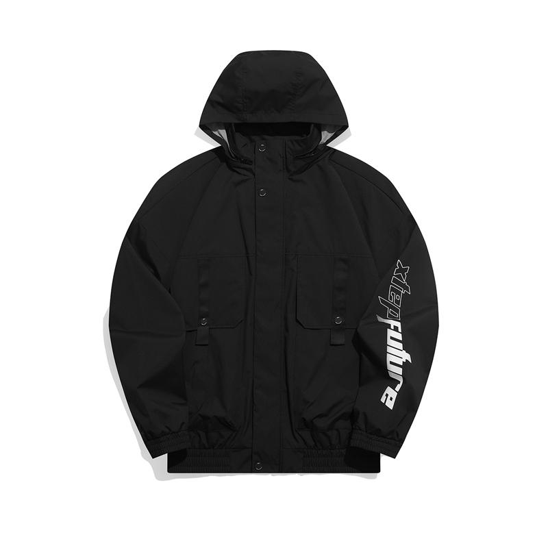专柜款 男子夹克 21年新款 都市保暖舒适潮流连帽外套979129130101
