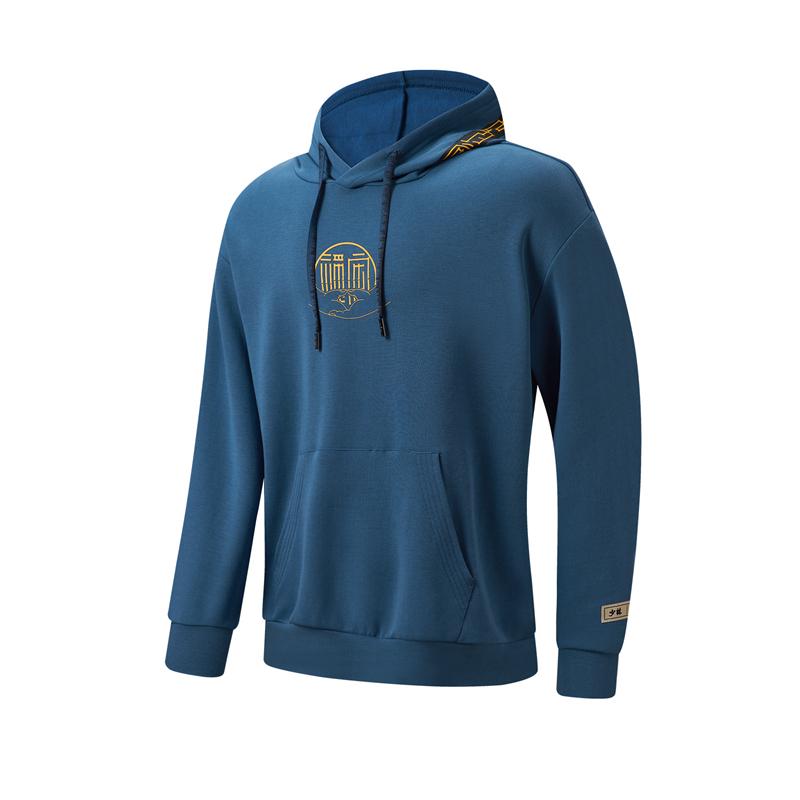 特步 专柜款 男子卫衣 21年新款 综合训练跑步户外连帽上衣979129930322