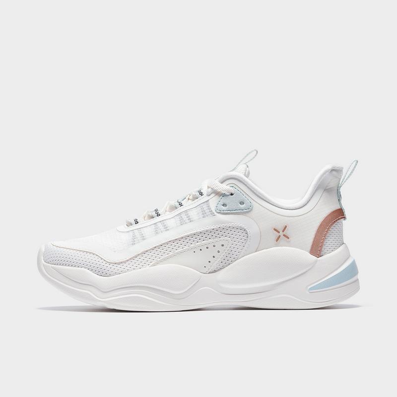特步 专柜款 女子综训鞋 21年新款 运动跑步舒适透气跑鞋979118520966