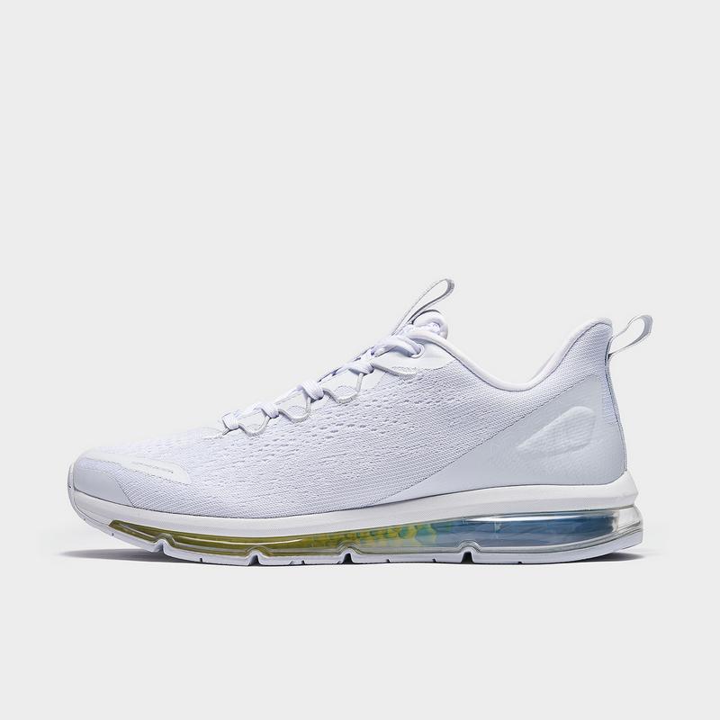 特步 专柜款 男子跑鞋 21年新款 全掌气垫 网面透气跑步鞋979119110967