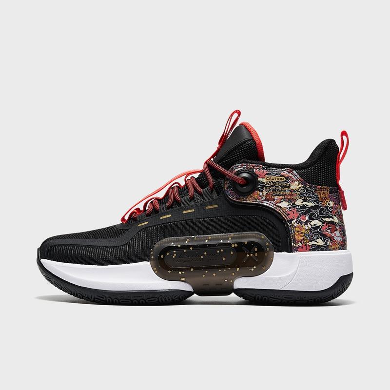 特步 专柜款 男子篮球鞋 21年新款 潮流高帮减震球鞋979119121365