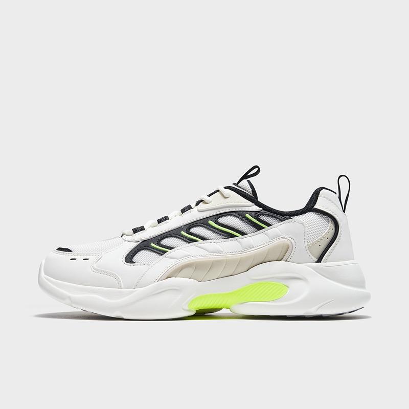 特步 专柜款 男子休闲鞋 21年新款 网面透气时尚运动老爹鞋979119320559