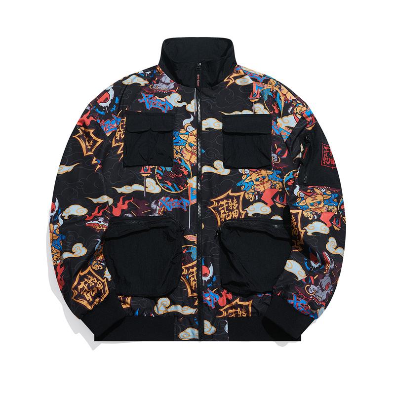 【牛转乾坤】特步 专柜款 男子双层夹克 21年新款 范丞丞同款潮流外套979129120001