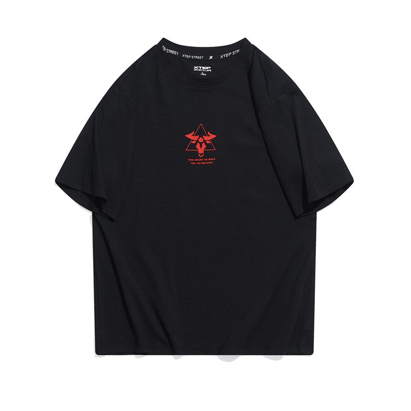 【牛转乾坤】专柜款 男子短袖针织衫 21年新款 街头潮流短袖979129010367