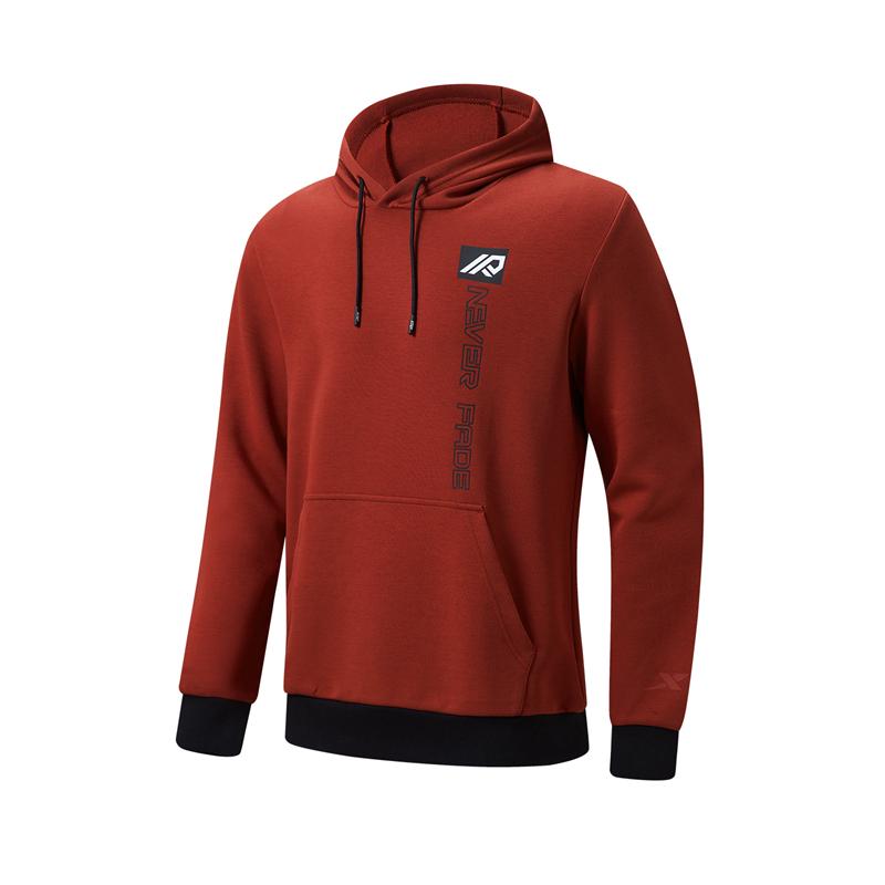 特步 专柜款 男子卫衣 21年新款 综合训练户外运动连帽上衣979129930305