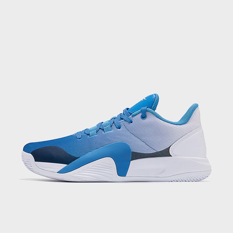 【林书豪同款】特步 专柜款 男子篮球鞋 21年新款 中帮透气运动篮球鞋979119121371