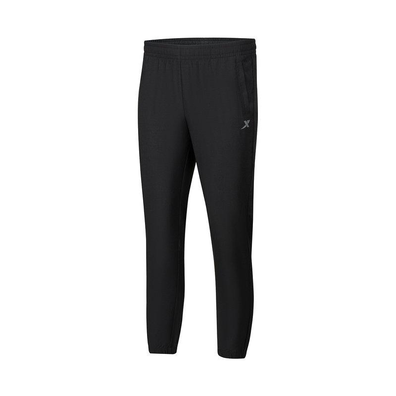 特步 女子梭织运动长裤 21年新款 综合训练运动休闲长裤879228980230