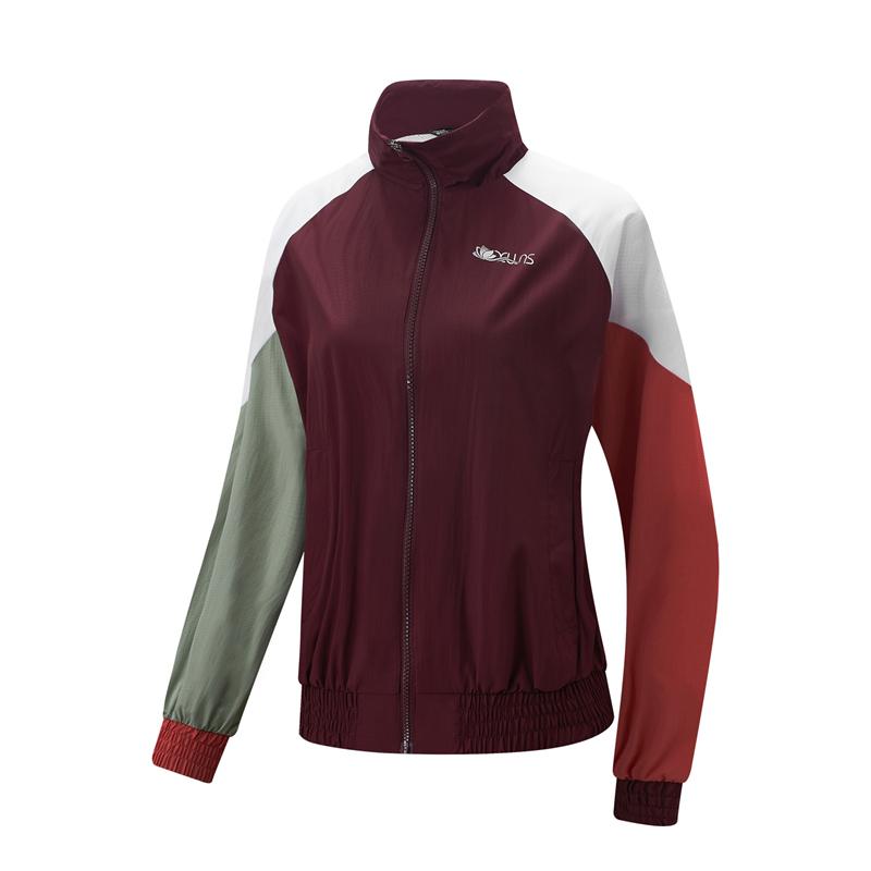 专柜款 女子双层夹克 21年新款 时尚拼色防风外套979128120384