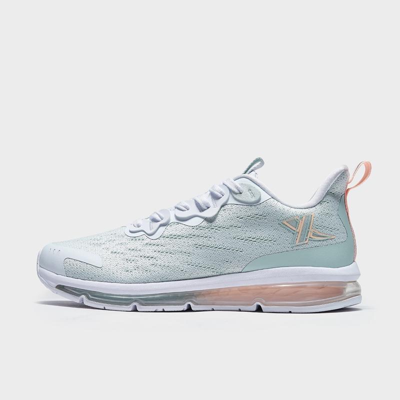 特步 专柜款 女子跑鞋 21年新款 全掌气垫网面透气跑步鞋979118110967