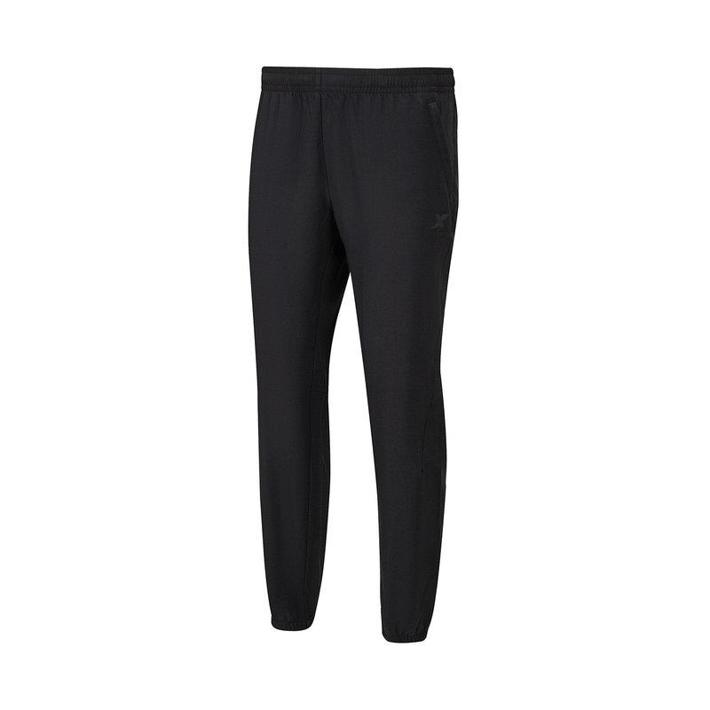 特步 男子梭织运动长裤 21年新款 运动休闲收口小脚裤879229980093