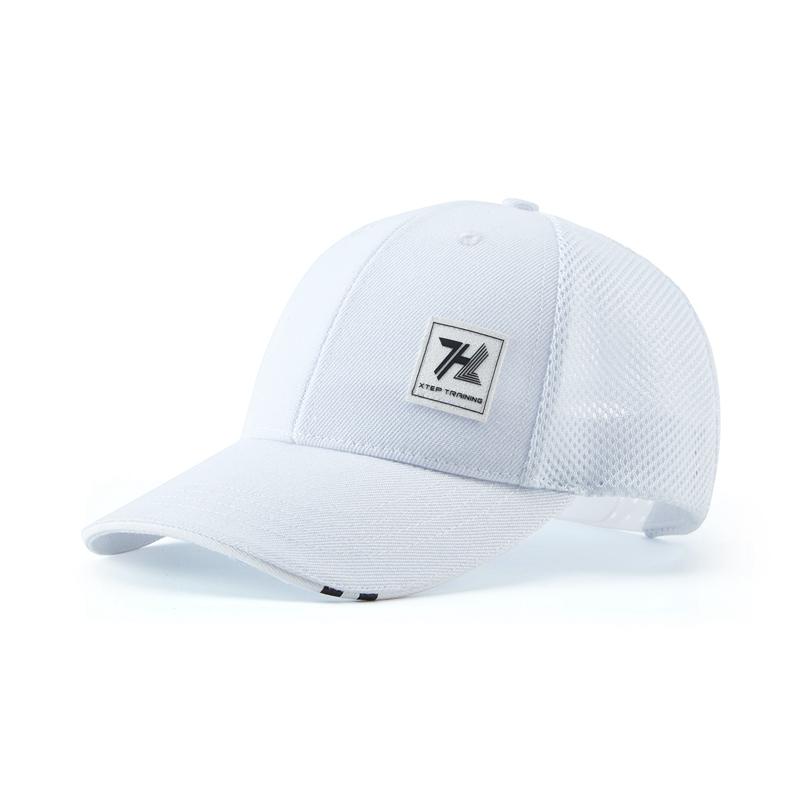 特步 男女同款帽子 新款中性百搭时尚防晒鸭舌帽880337210002