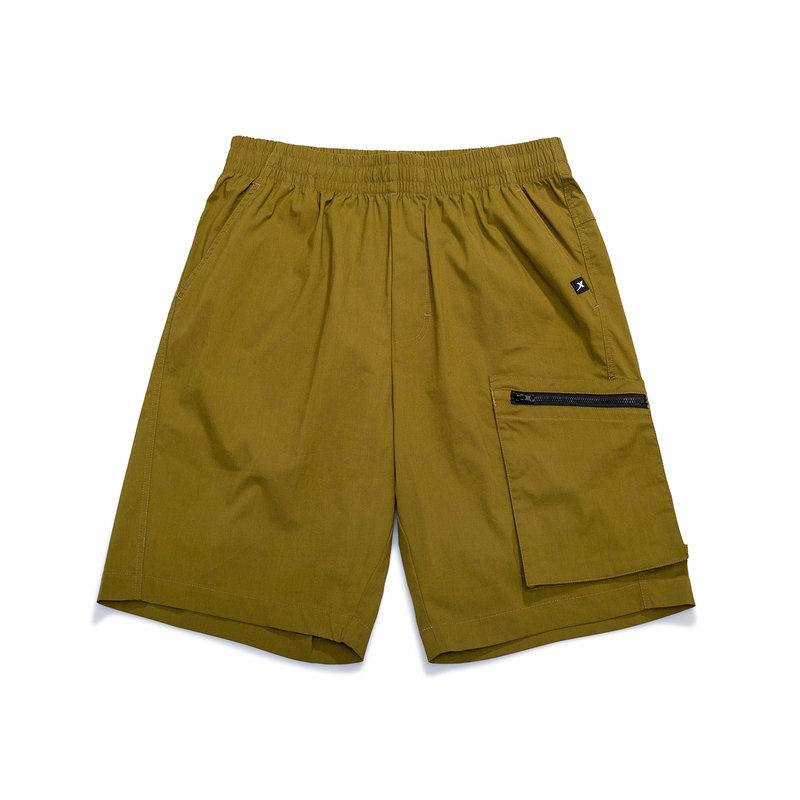 【未来可期】特步 男子休闲五分裤 21年新款 街头潮流舒适百搭短裤879229530165