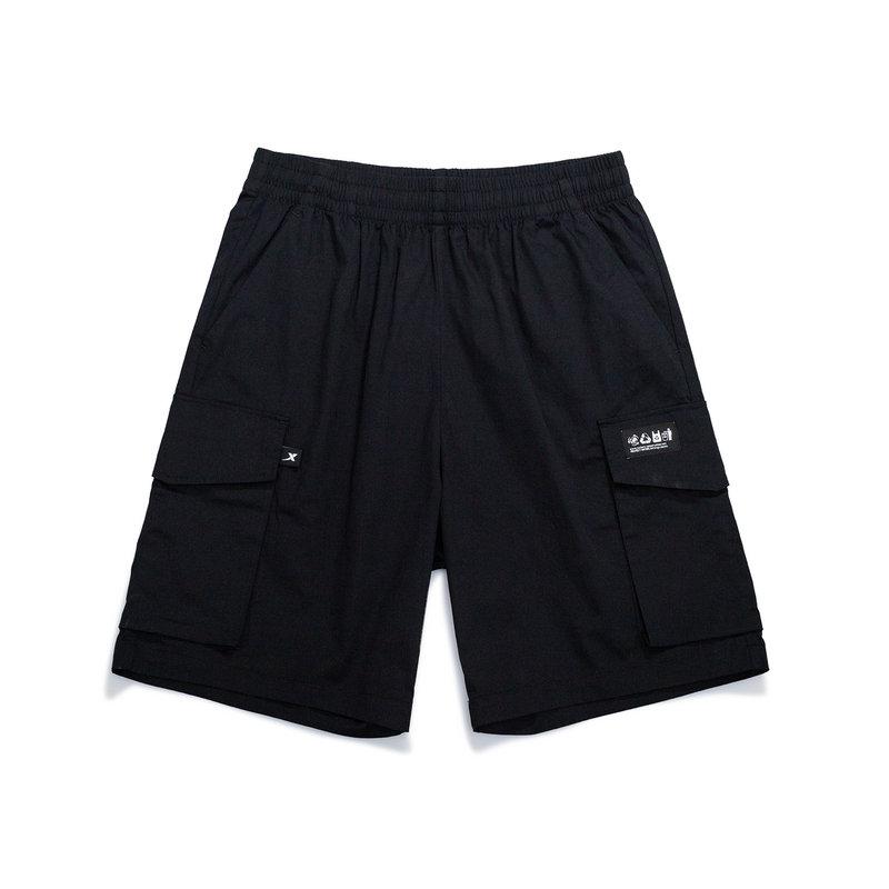 【未来可期】特步 男子休闲五分裤 21年新款 都市潮流运动休闲短裤879229530166