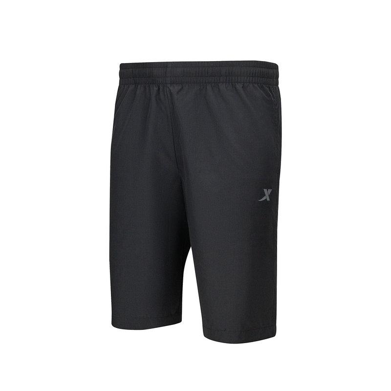 特步 男子梭织短裤 21年新款 运动跑步锻炼短裤879229670088