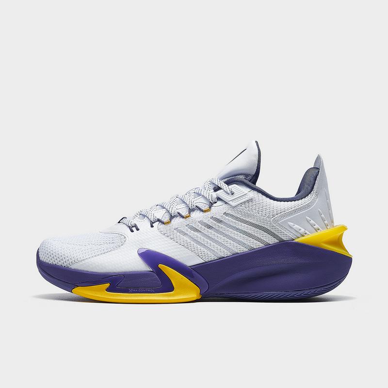 特步 专柜款 男子篮球鞋 21年新款 炫彩时尚缓震弹耐磨篮球鞋979219121373