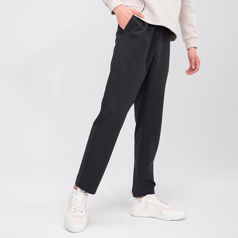 特步 专柜款 男子长裤 新款跑步运动透气百搭梭织长裤979129980341