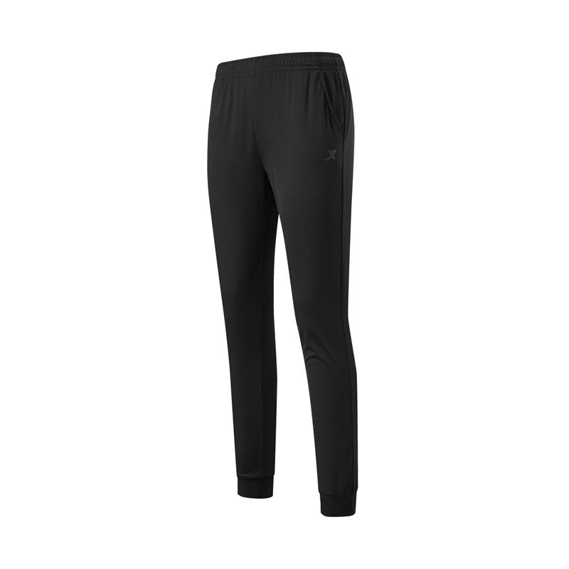 特步 专柜款 女子长裤 综训运动跑步针织长裤979228630344