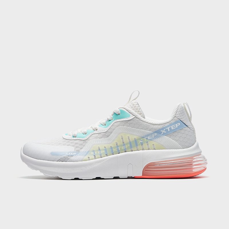 特步 专柜款 女子休闲鞋 21年新款 网面气垫减震运动跑步鞋979218320776