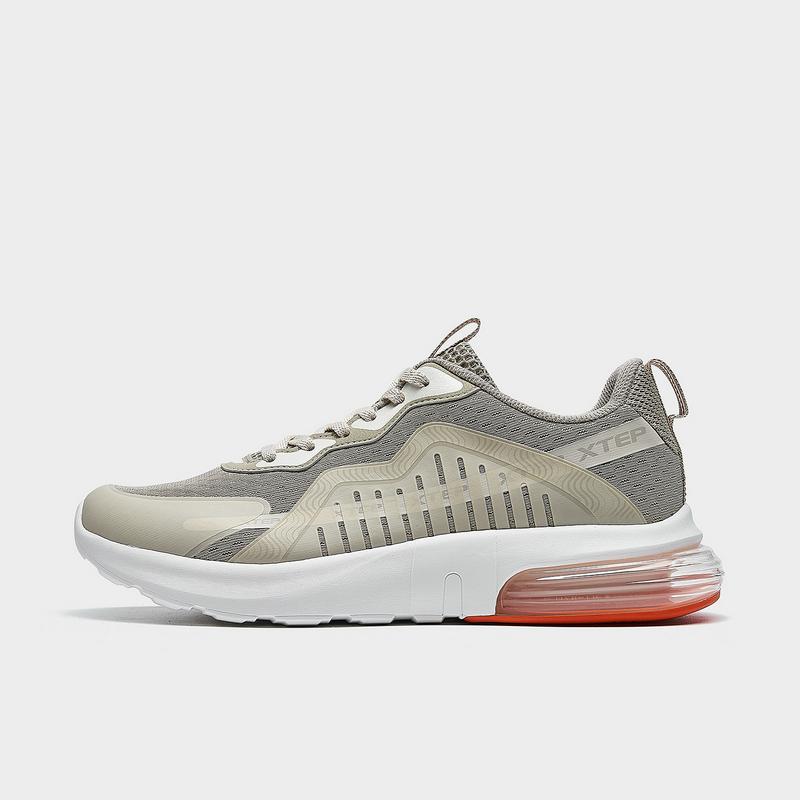 特步 专柜款 男子休闲鞋 21年新款 时尚都市半掌气垫运动鞋979219320776