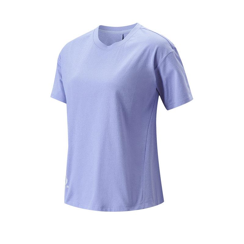 特步 专柜款 女子短袖针织衫 21年新款 综训吸汗透气短T恤979228010334