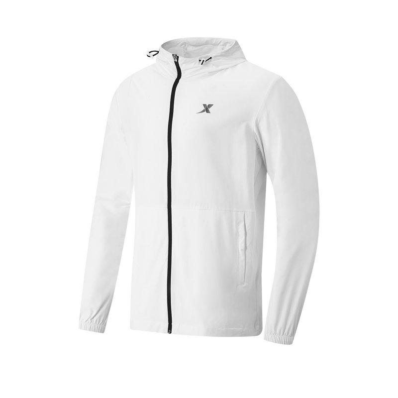 专柜款 男子单风衣 21年新款 跑步运动连帽拉链上衣979229140242