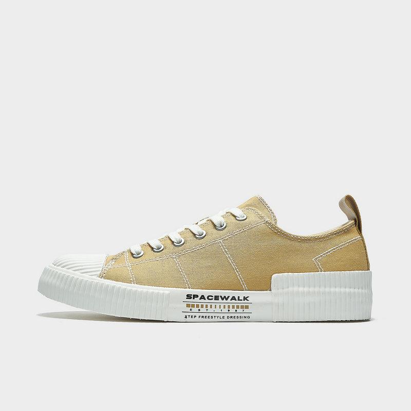 特步 专柜款 男子板鞋 21年新款 简约平底帆布鞋979219316813
