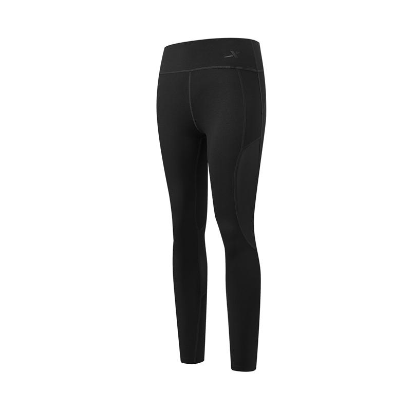 特步 专柜款 女子专业紧身裤 21年新款 综训运动跑步瑜伽紧身裤979128580420
