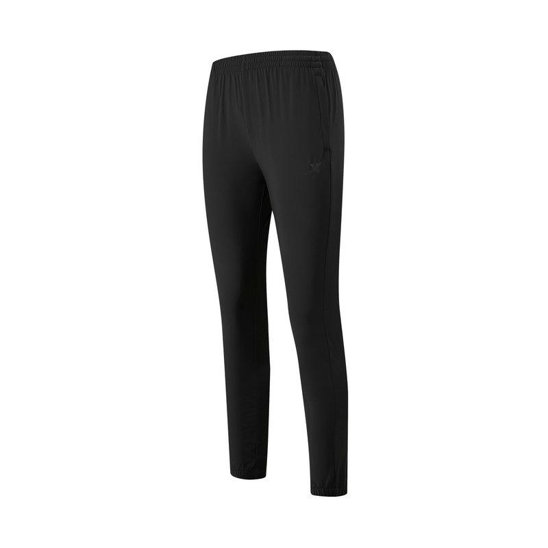 特步 专柜款 女子梭织九分裤 21年新款 运动健身跑步梭织裤979228690206