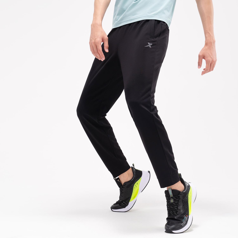 特步 专柜款 男子针织长裤 21年新款 夏季新款户外时尚休闲长裤979229630505
