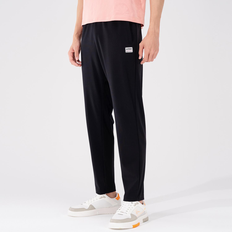 特步 专柜款 男子针织长裤 21年新款 夏季新款时尚休闲运动长裤 979229630513