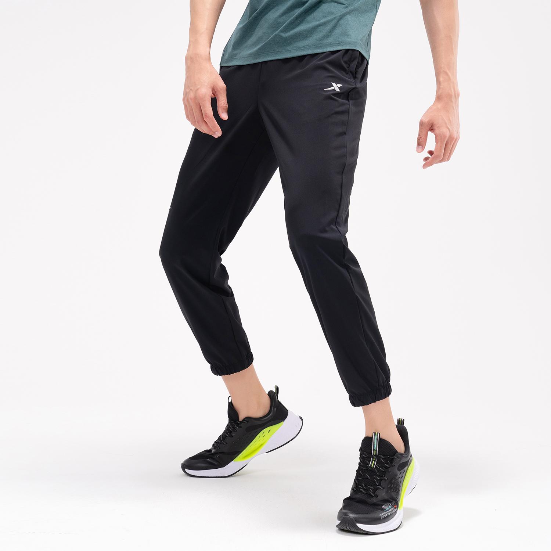 特步 专柜款 男子梭织九分裤 21年新款 夏季新款运动休闲百搭九分裤979229690546