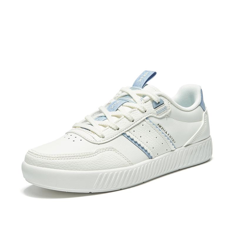 特步 专柜款 女子板鞋 21年新款 舒适时尚休闲简约板鞋979218316931
