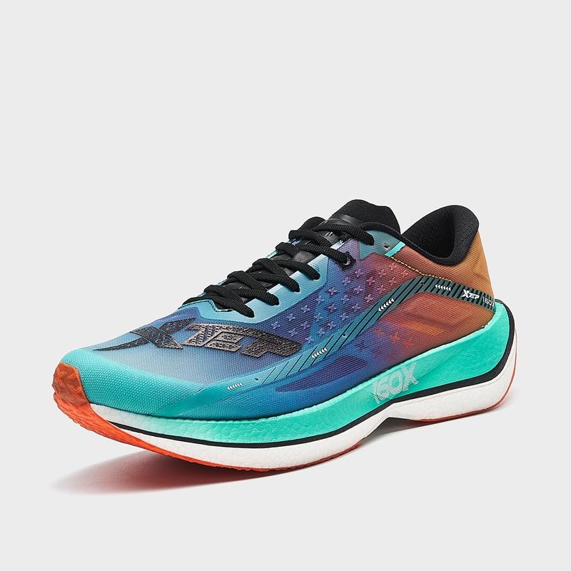 【160X2代】特步 专柜款 男子跑鞋 21年新款 碳板竞速马拉松跑鞋979119110811