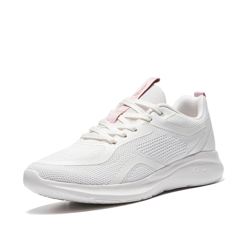 特步 专柜款 女子跑鞋 21年新款 时尚轻便百搭跑步鞋979118110978